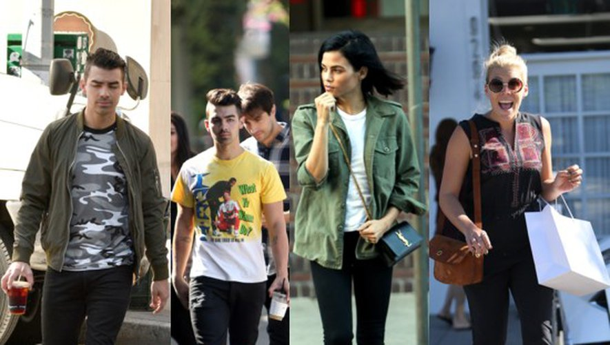 Mode été indien des people : Nick Jonas, Joe Jonas, Jenna Dewan, Busy Phillips…