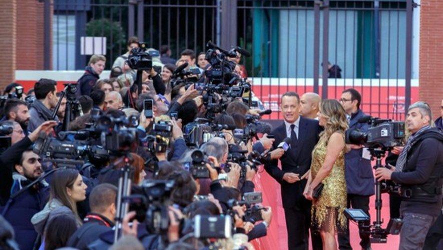 Tom Hanks et sa femme Rita Wilson à l'ouverture du festival