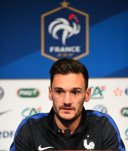 Hugo Lloris, le 6 octobre 2016 au Stade de France