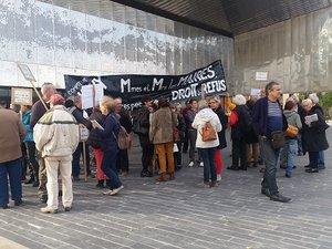 Les collectifs Stop Linky manifestent à Rodez