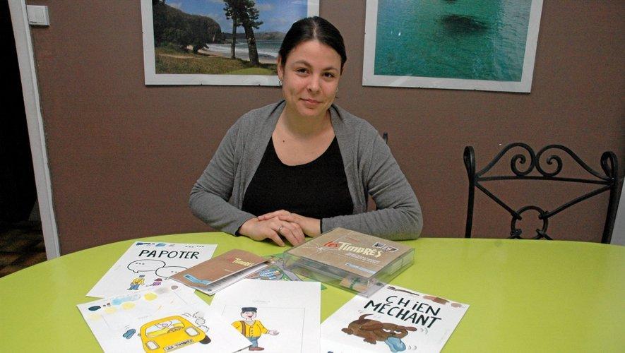 Louise Malher-Seren est impatiente de pouvoir éditer le jeu qu'elle a créé.