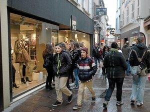 Dernier grand rush cet après-midi pour les achats de Noël
