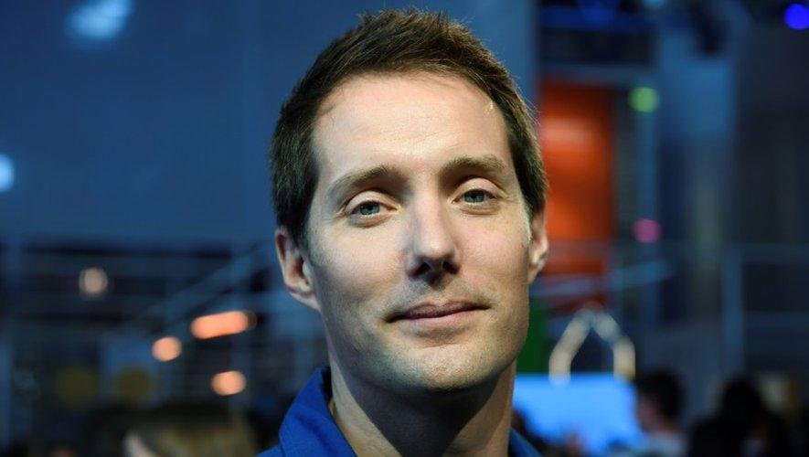 L'astronaute Thomas Pesquet, lors de la Fête de la Science, le 7 octobre 2016 à Paris