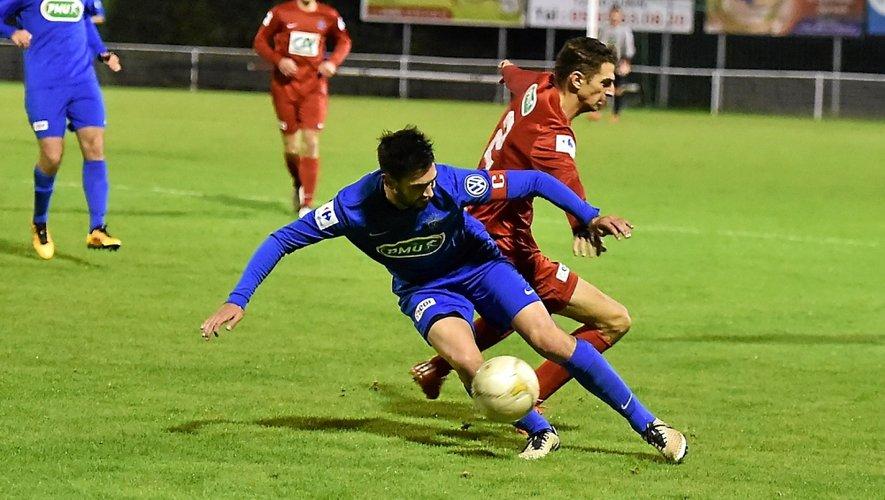 Après s'être qualifiésà Figeac (PL) samedi soir (4-1) Sébastien Da Silva et les Ruthénois recevront le FC Mtsapéré (DH) le 12 ou le 13 novembre prochain lors du 7e tour de la Coupe de France.