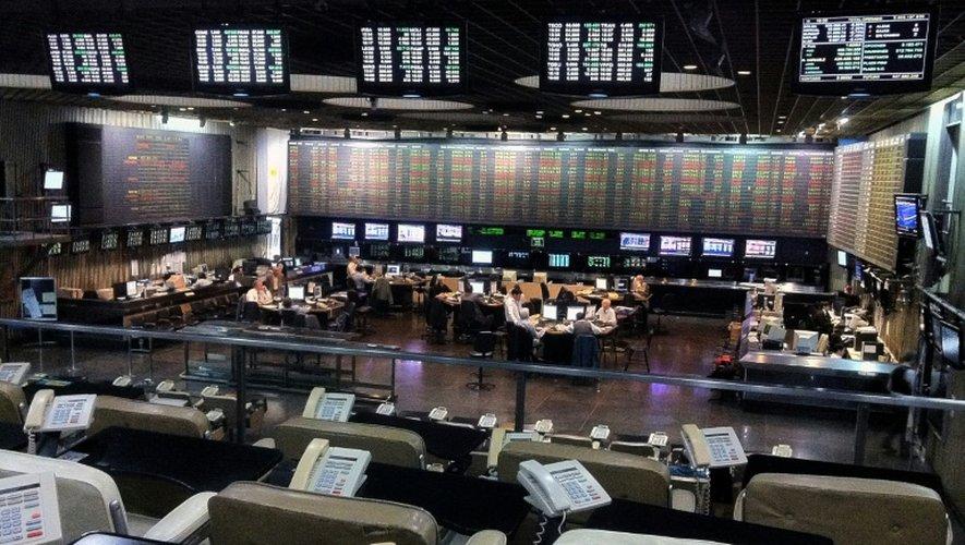 La Bourse argentine chute de 6,28% à une heure de la fermeture