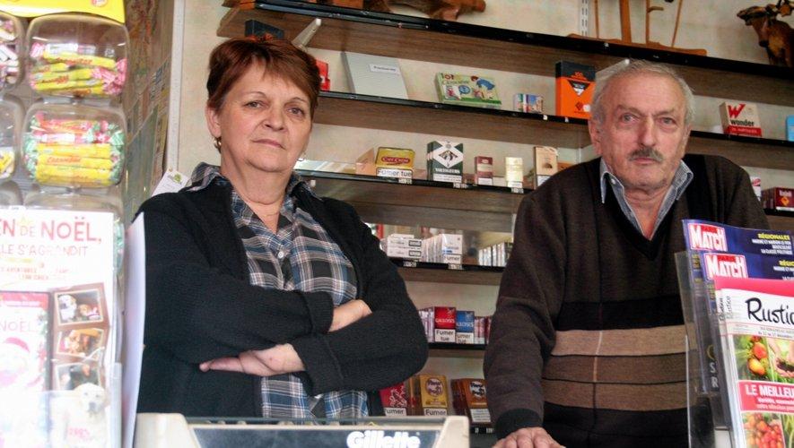 «Il y aura un pincement au coeur», lancent Raymonde et Michel Rouquié, au moment d'évoquer la fermeture leur commerce.