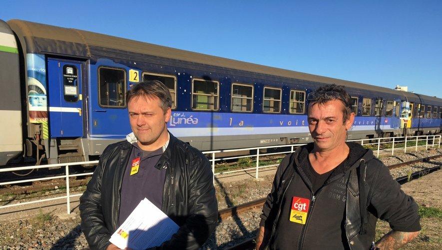 Les syndicats à nouveau inquiets pour l'avenir du train de nuit Rodez-Paris