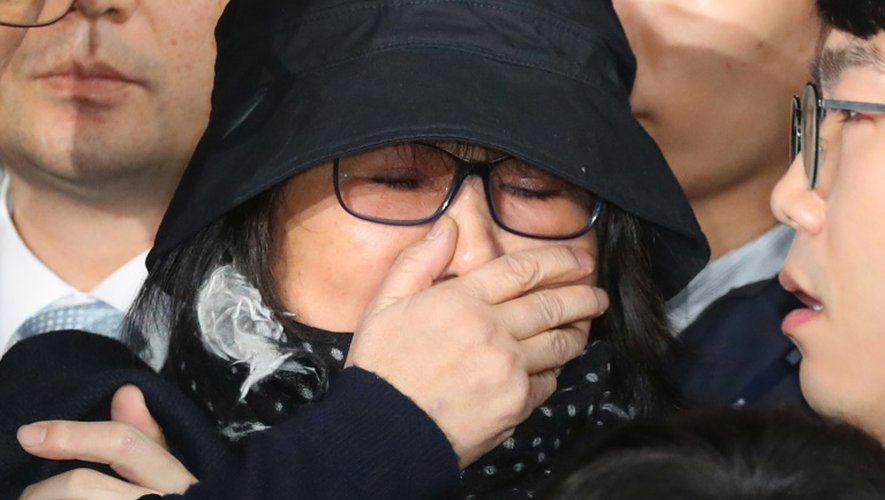Choi Soon-Sil à son arrivée au tribunal à Séoul, le 31 octobre 2016