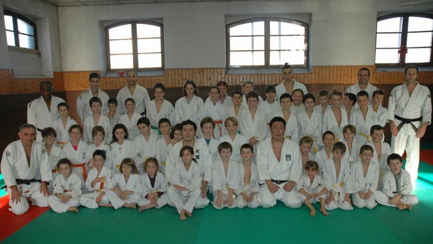 Espalion : des Japonais sur le tatami