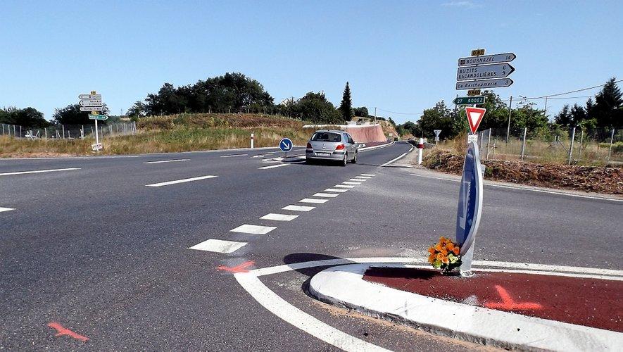 Le carrefour entre les RD840 et 22 a été le théâtre d'une dizaine d'accidents depuis l'ouverture du créneau de dépassement en sortie de Firmi, dont un mortel.