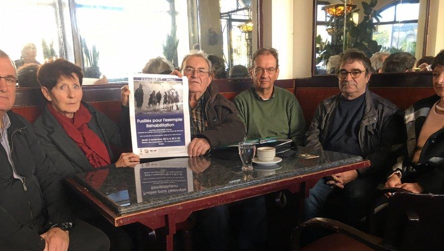 Les membres de la LDH, de la Libre pensée et de l'Anacr se sont associés pour la programmation de cette soirée.