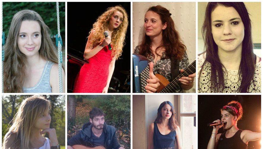 Huit jeunes talents de la chanson sur la scène d'Olemps, samedi