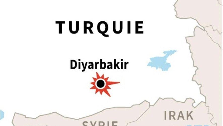 Turquie : Explosion à Diyarbakir