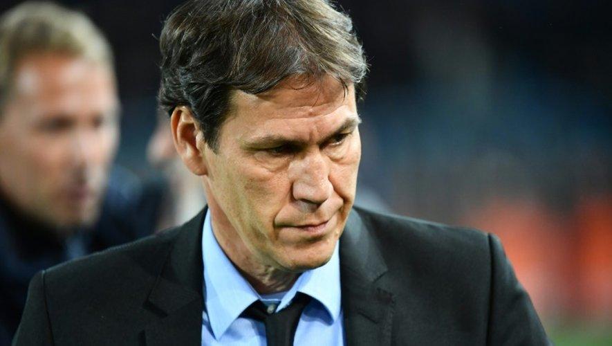 L'entraîneur de l'OM Rudi Garcia lors du match contre Montpellier, le 4 novembre 2016 à La Mosson