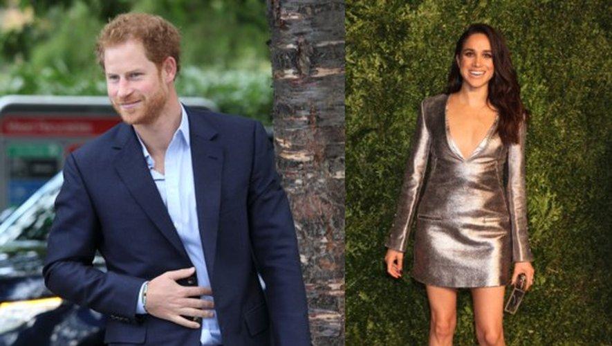 Le prince Harry et l'actrice Meghan Markle