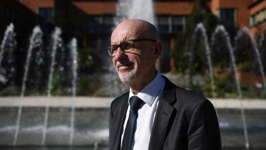 """Georges Salines, président de l'association """"13-Novembre: Fraternité et Vérité"""", le 4 octobre 2016 à Paris"""