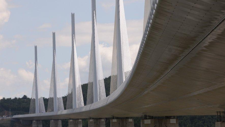 L'interpellation s'est déroulée au niveau du péage du viaduc de Millau.