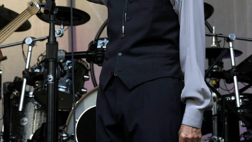 Leonard Cohen sur scène à Gent, le 12 août 2012