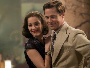 Brad Pitt et Marion Cotillard dans les alliés, sortie mercredi