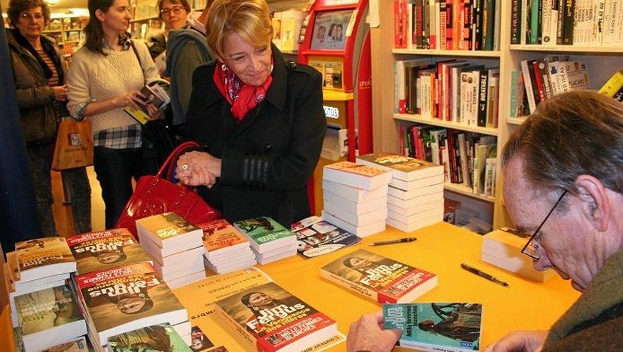 Jim Fergus était l'invité de la Maison du livre pour évoquer et dédicacer son dernier ouvrage.