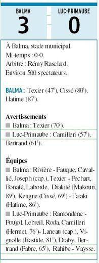 Luc-Primaube tombe à Balma