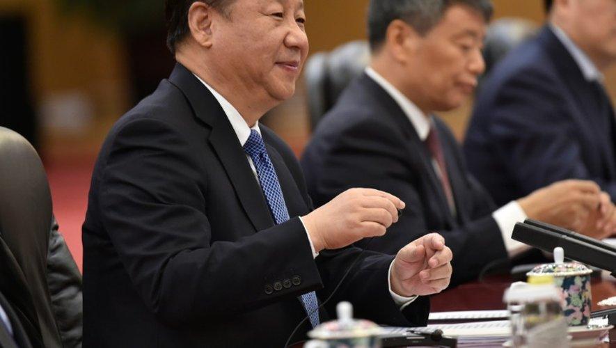 Le président chinois Xi Jinping le 31 octobre 2016 à Pékin