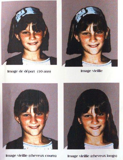 Portrait de Marion Wagon scientifiquement vieillie  diffusée le 5 mai 1998 par les policers d'Agen