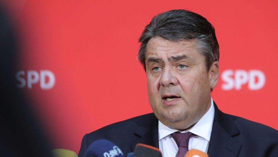 Sigmar Gabriel le 14 novembre 2016 à Berlin