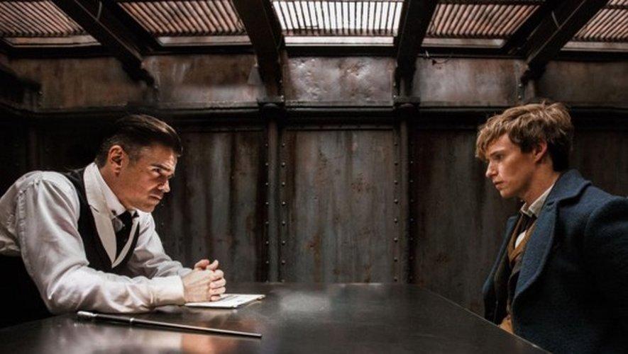 Colin Farrell face à Eddie Redmayne dans Les Animaux fantastiques