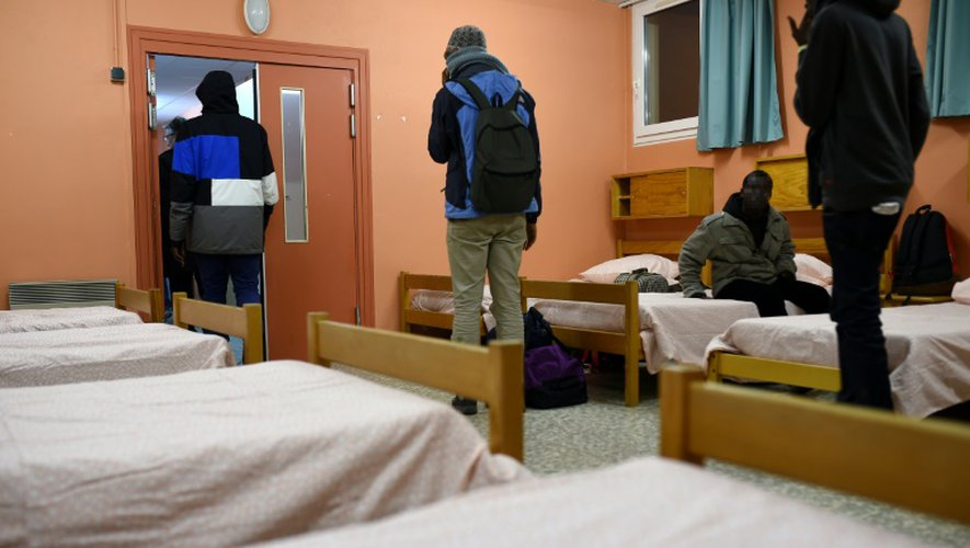 Un centre d'accueil pour mineurs (CAOMI) dans la ville de Cerdon, près d'Orléans, le 2 novembre 2016