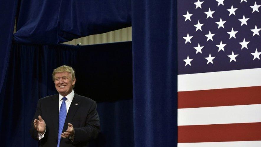 Donald Trump, le 21 octobre 2016 à Fletcher, en Caroline du Nord