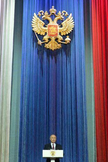 Vladimir Poutine, à Moscou, le 10 novembre
