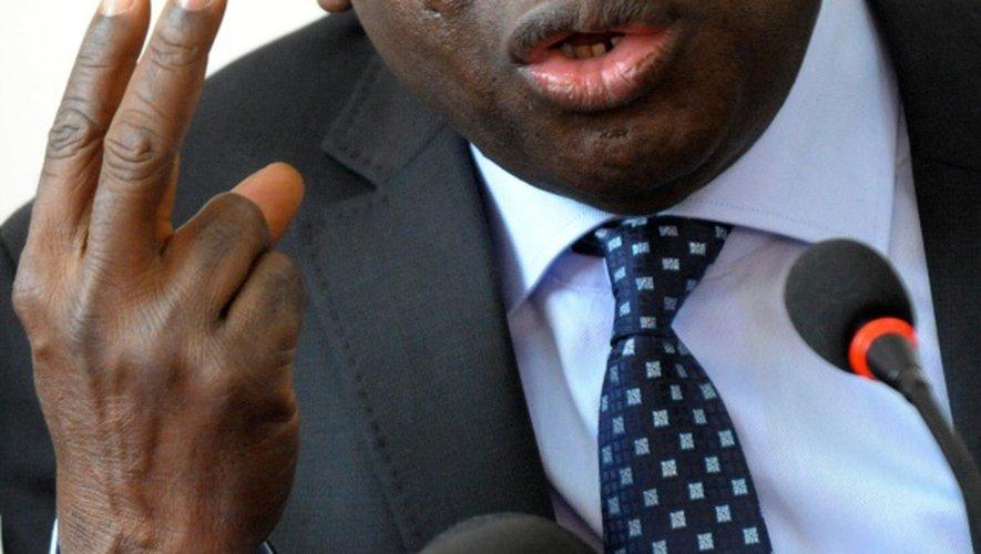 Le Sénégalais Sidiki Kaba, président de la CPI, en novembre 2013