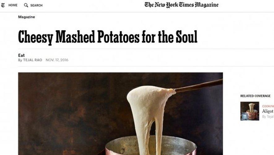 L'article a été publié le 17 novembre sur le site internet du New York Times Magazine.
