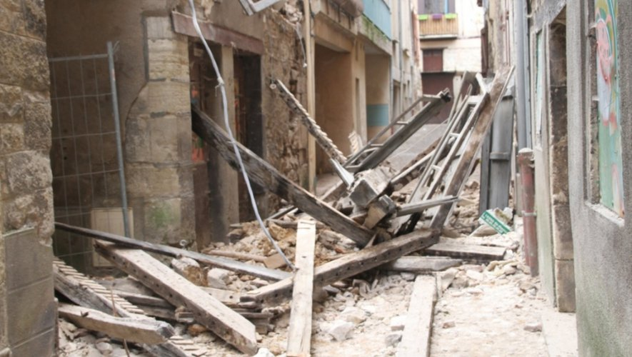 La bâtisse avait fait l'objet d'un arrêté municipal de mise en péril.