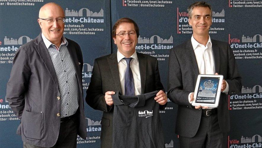 De d. à g. : Pierre Censi, J.-P. Keroslian et Dominique Gruaut.