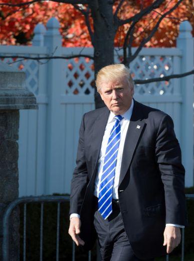 Donald Trump, le 19 novembre 2016 à Bedminster (New Jersey)