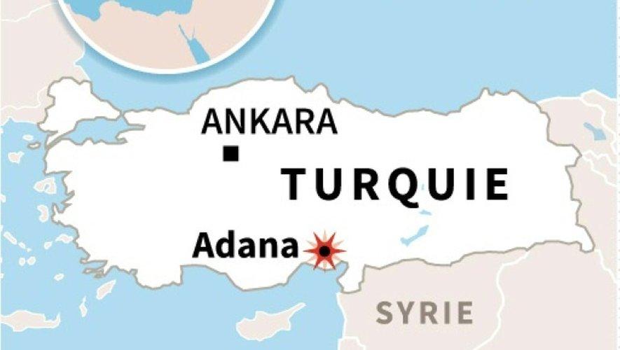 Explosion à Adana en Turquie