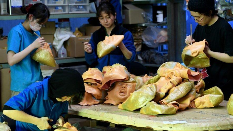 Depuis l'élection, 5.000 masques se sont vendus en seulement quelques jours