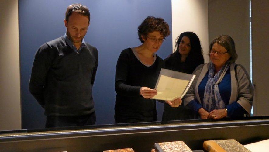 Emily Teyssèdre-Jullian, présidente de la Société des Lettres, est particulièrement fière de la lettre de Chateaubriand à l'association. Une lettre qu'elle lira ce week-end.