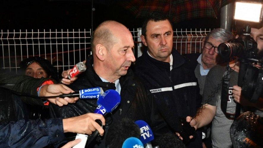 Le procureur de la République de Montpellier, Christophe Barret, face à la presse, après l'attaque dans une maison de retraite le 25 novembre 2016 à  Montferrier-sur-Lez