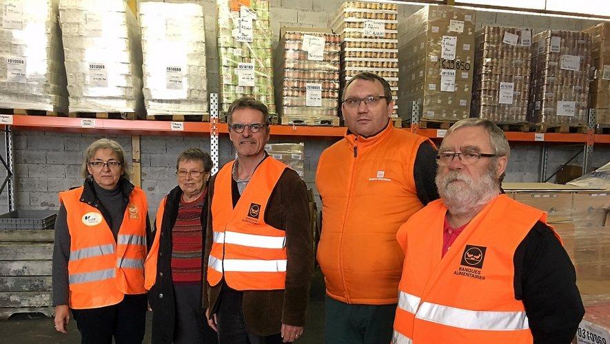 Les bénévoles de la Banque alimentaire sont prêts pour deux jours de collecte.