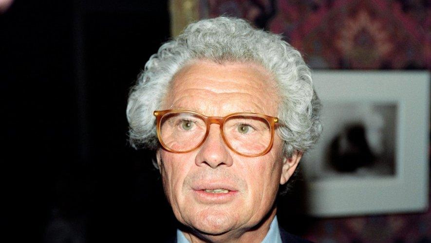 Le photographe britannique David Hamilton, le 12 septembre 1990 à Paris