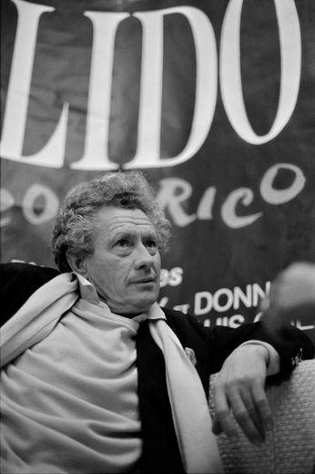 David Hamilton photographié le 22 novembre 1983 au Lido à Paris