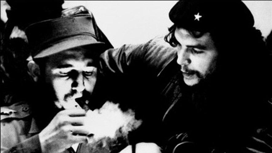 Fidel Castro et Ernesto Che Guevara le 25 novembre 2016 à La Havane