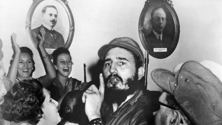 Fidel Castro le 4 janvier 1959 à Cienfuegos