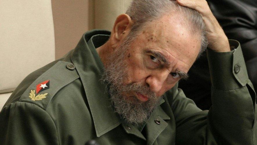 Fidel Castro le 12 février 2015 à La Havane