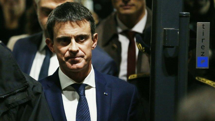 Manuel Valls le 25 novembre 2016 à Rouen