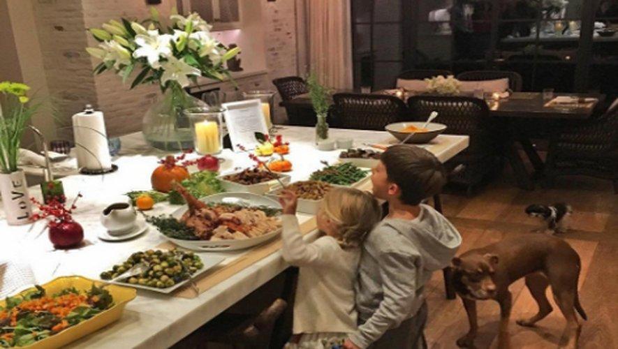 Dindes de Thanksgiving: les stars en fête