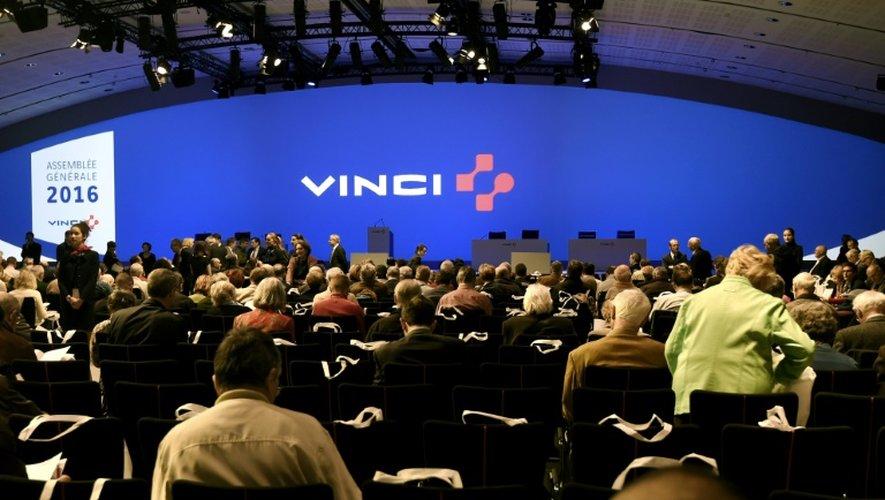 Une assemblée générale de Vinci, le 19 avril, à Paris
